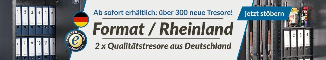 Format / Rheinland Tresore